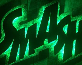 Hulk SMASH!! Light Up Action Word