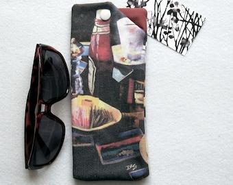 Soft Padded Case for Sunglasses - Canadian Artwork