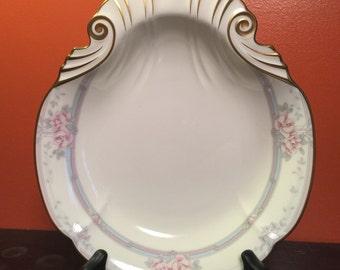 Noritake MAGNIFICENCE Shell Shaped Dish 9736 Bone China