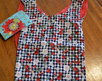 Toddler Crossover Dress or Top to suit 6 - 18month old