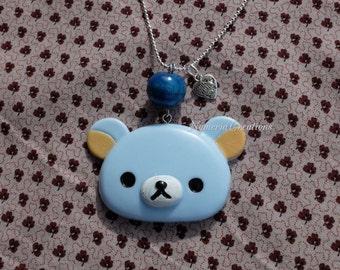Kawaii Rilakkuma Bear Necklace