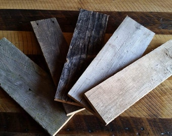 reclaimed wood craft bundle