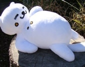 LIFE SIZE Tubbs Plush - GIANT - From Neko Atsume Kitty Collector - Made To Order!
