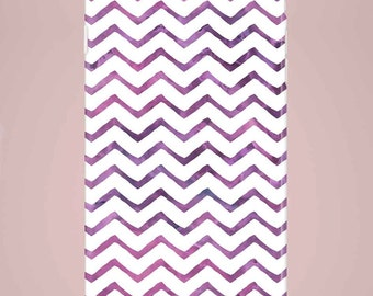 Mobile phone case ZigZak purple