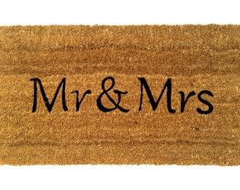 Doormat Mr&Mrs