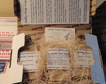 Monthly Soap Boxes/3 bars of soap per box