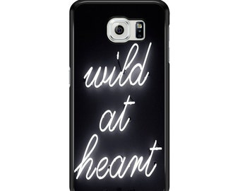 Wild At Heart Phone Case Samsung Galaxy S3 / S4 / S5 / S6 / S6 Edge / S6 Edge Plus / S7 / S7 Edge - Samsung Galaxy Phone Cover - Case