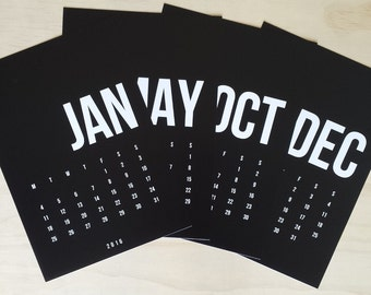 25% OFF + 2016 Calendar - Black Is The New Black