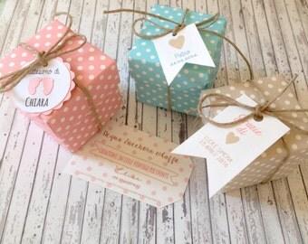 10 Boxes Polka Dot Confetti