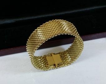 Old, gold Doublé bracelet American fine MAB100