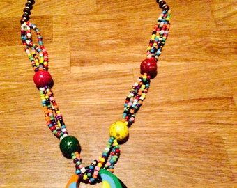 "Necklace ""Thousand and one colours"""