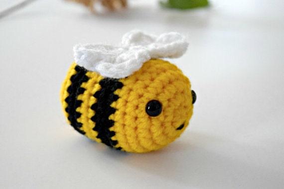 Easter Gift For Kids Crochet Bee Plush Toddler Toy
