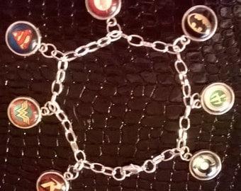 DC Comics Charm Bracelet