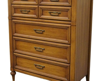 "WHITE of MEBANE 38"" French Regency Style Chest of Drawers 2700-7"