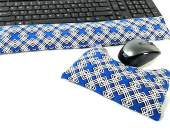 Keyboard Mouse Wrist Rest, Rice bag, Wrist Rest, FREE Shipping, Computer Comfort, Ergonomic Relief, Wrist Pillow, rice bag, Tech Gift