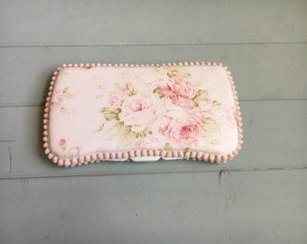 Vintage Roses, Wipe Case, Wipes Case, Baby Wipe Case, Wipes Holder, Baby Wipes Case, Travel Wipe Case, Diaper Bag, Baby Gift, Babyshower