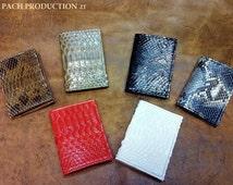 Cards, cards, port cards, banknotes, Python Pocket