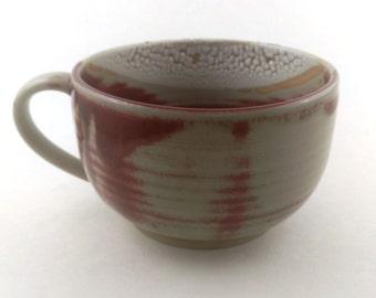 Red Cappuccino Mug