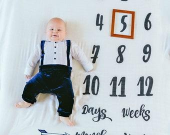 Milestone Blankets  Days, Weeks, Months, Years