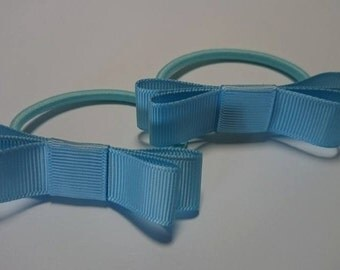 Baby/Toddler/Girl/Adult 2 1/2 Inches - 6.5 cm Mary Jane on elastic - School and Everyday wear -  Light Blue