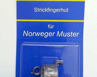 Strickfingerhut Inox Knitting Thimble
