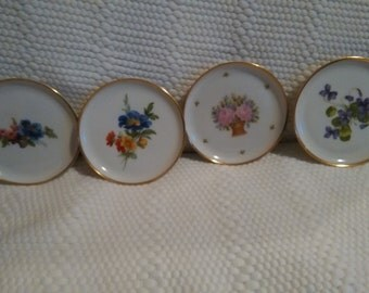 Vintage Kaiser Porcelain Butter Pats