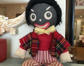 Vintage WENDY BOSTON Black Rag Doll