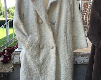 Retro fur coat