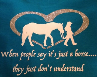 When people say its just a horse.... they just don't understand