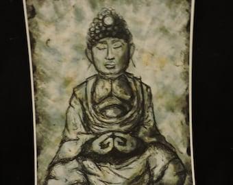 buddha sketch print