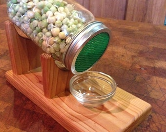 9 Sprouting Sweet Sugar Ann Peas in Awesome Sprouting Kit