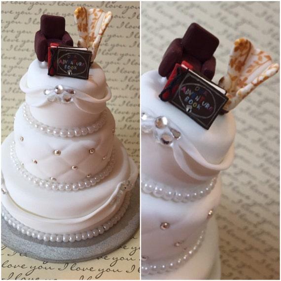 Wedding Cake Replica Cake Ornament Wedding Gift By AriCrafts1