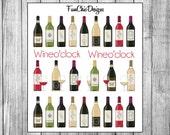 Wine Planner Stickers