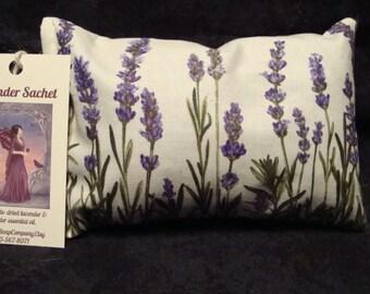 Lavender Sachet, Sachet, Aromatherapy, Scented Pillow, Handmade Sachet, Herbal Sachet, Organic Lavender, Lavender