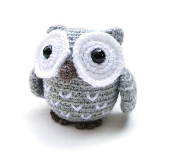 Amigurumi Big Animals : Owl amigurumi patterns - owl stuffed animal, crochet owl ...
