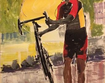 Cyclo-Cross; Near the Finish