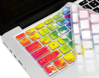 """Tie Dye Silicone Keyboard Cover Skin for Macbook Air 13"""" / Older Generation Pro 13"""" 15"""" 17"""" with / without Retina / Wireless Keyboard"""
