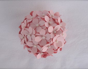 Light Pink Hydrangea Flower Ball