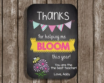 50% OFF SALE Teacher Appreciation - Gifts - Printable Card - Editable - Instant Download - Gift Card Holder