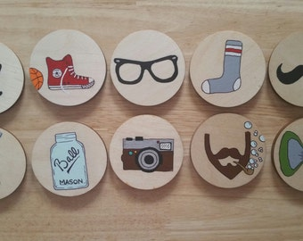 "Memory game ""Hipster"" 20 pieces"