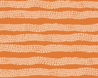 Pebbles in Orange Landscape Cloud9 Fabrics