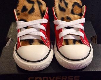 Leopard Print Converse Toddler Sizes