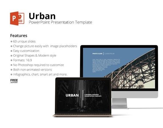 Urban design powerpoint template keynote presentation toneelgroepblik Images