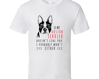 Boston Terrier t-shirt on a special price. Boston Terrier tshirt for birthday. Boston Terrier tee present. Boston Terrier idea gift shirt
