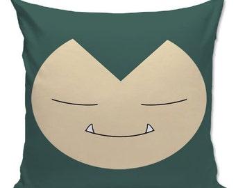 Pokemon pillow, Snorlax Pillow, Gamer pillow