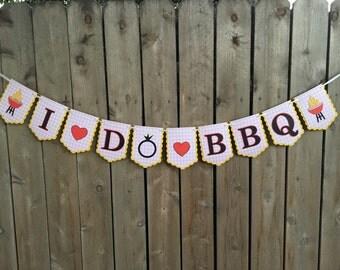 I Do BBQ Banner