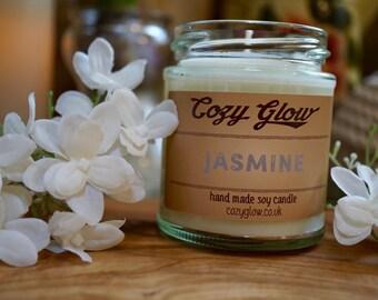 Jasmine Soy Candle 6.8 ounce Jar