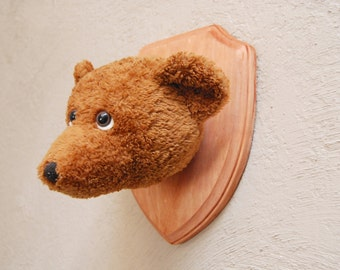Faux Taxidermy Stuffed Bear