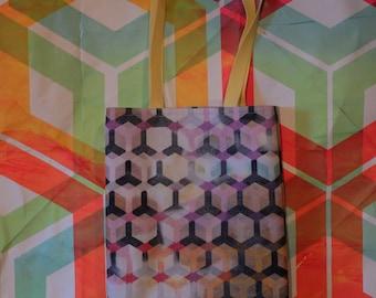 Tote Bag, bag shove everything, purse, grocery bag, bag