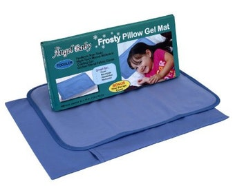 Toddler Pillow Mat, Cooling Mat Pillow, Toddler Pillow Cooler, Fridge Pillow Mat, Migraine Pillow, Headache Gel Mat, Cool Pillow Mat